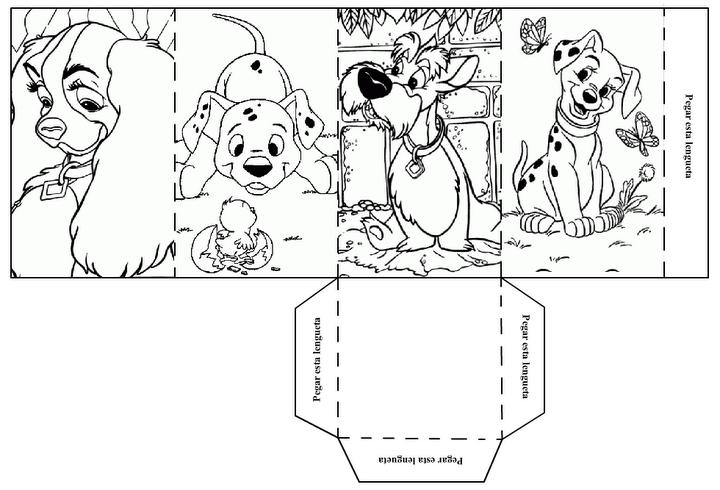 Diviértete Y Colorea Perros